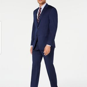 Tommy Hilfiger wool pinstripe suit jacket/blazer